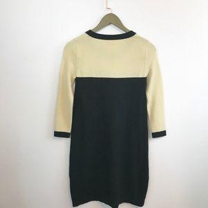 kate spade Dresses - Kate Spade Bardot Color Block Sweater Dress